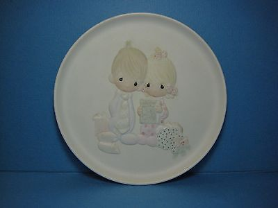 Our First Christmas Together Porcelain Plate Precious Moments