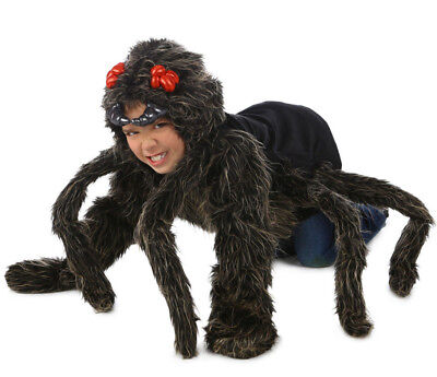 Tarantula Hoodie Spider Costume Childs Kids Boys Girls 5 6 7 8 9 10 11 12 S M L