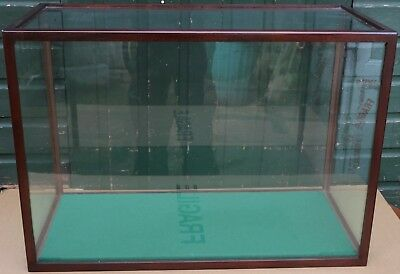 Very Large Rectanglar Shaped Glass Case Ideal For Taxidermy Etc
