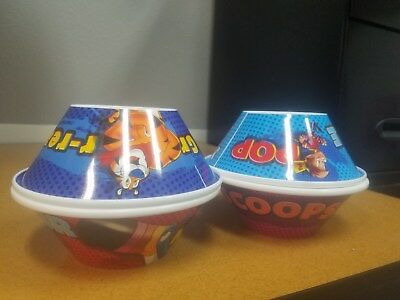 2017 Set Of 4 Unique Rare Kelloggs Cereal Bowls Brand New Collectible!!