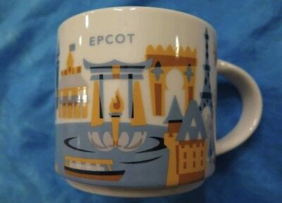Disney Parks Starbucks You Are Here EPCOT Coffee Mug 2017 New