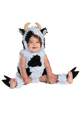 Little Kelly the Cow Calf Chenille Costume Baby Toddler 6 9 12 18 24 months 2T