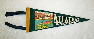 Alcatraz Prison Class of 1999 Souvenir Travel Pennant msc6