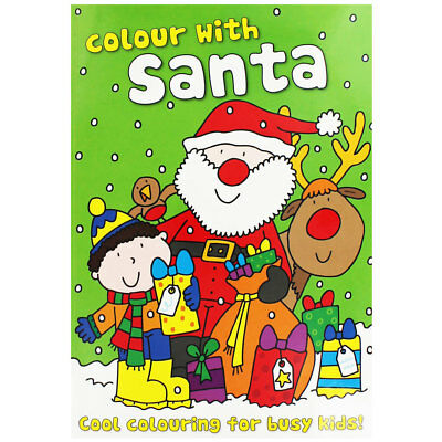 Christmas Colouring Book - Assorted (Paperback), Children's Books, Brand New