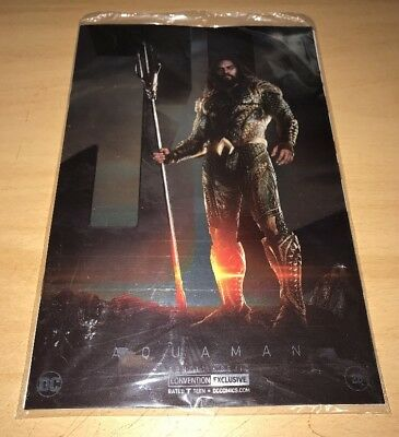 AQUAMAN #28 NEW YORK COMIC CON SEALED FOIL VERSION!! SEE MY OTHers!