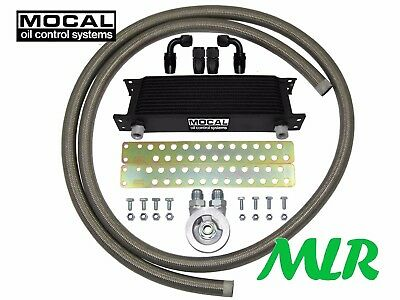 Impreza Wrx Sti Turbo 4Wd Mocal -10 S/S Braided Hose Oil Cooler Kit Zqbfk-M20