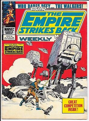 """Marvel Comics - Star Wars Weekly """"The Empire Strikes Back"""" - #123 July 1980"""