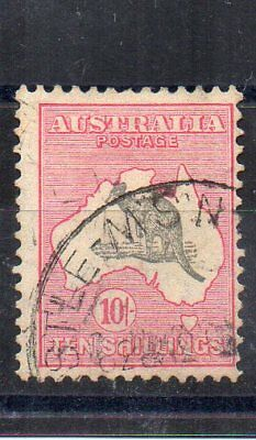 Australia 1932 10s grey and pink Kangaroo FU CDS