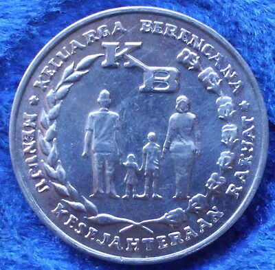 """INDONESIA - 5 rupiah 1974 """"family planning program"""" KM# 37 - Edelweiss Coins"""