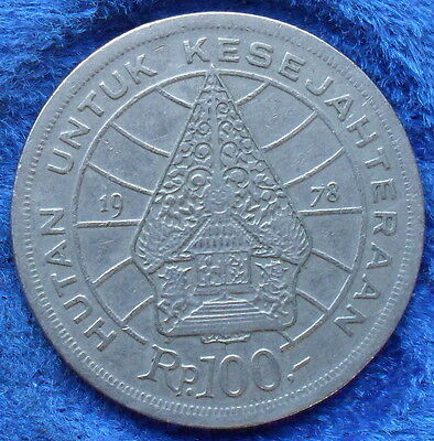 """INDONESIA - 100 rupiah 1978 """"forestry for prosperity"""" KM# 42 - Edelweiss Coins"""