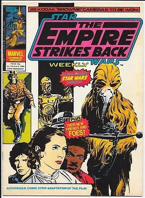 """Marvel Comics - Star Wars Weekly """"The Empire Strikes Back"""" - #119 June 1980"""