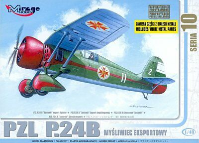 """MIRAGE HOBBY® 48104 PZL P.24B """"Yastreb"""" Export Fighter in 1:48"""