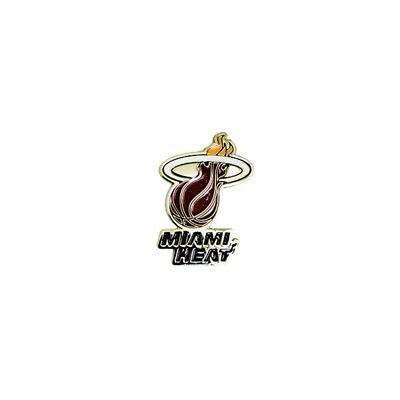 Nba Miami Heat Crest Pin Badge - Official