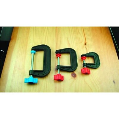 75mm Lightweight Plastic G-clamp - Modelcraft Gclamp Modelling Tools