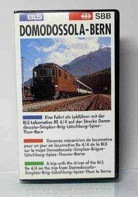 Rincovision Video VHS  BLS Lokomotive RE 4/4 Domodossola - Bern