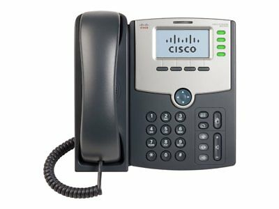 NEW! Cisco SPA504G 4 Line Ip Phone With Display Poe And Pc Port
