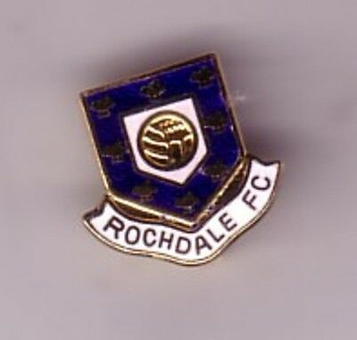 Rochdale ( mainly blue ) - lapel badge