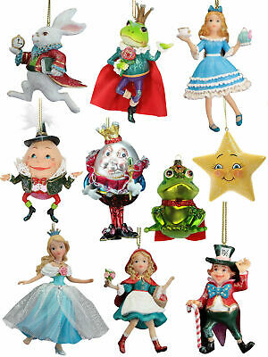 Fairytale Christmas Tree Decorations Hanging Ornament Wonderland Cinderella Gift