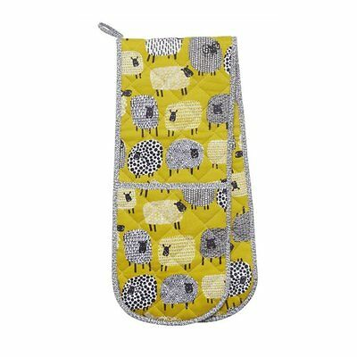 Ulster Weavers Dotty Sheep Double Oven Gloves