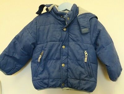 Boys mini boden yellow and navy coat age 2 3 for Boden yellow coat