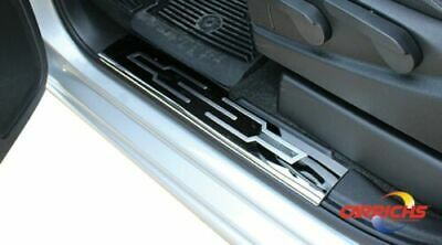 FORD F-250 SD CREW CAB 2008-2015 DOOR SILL Plates STAINLESS STEEL SPFD102 For