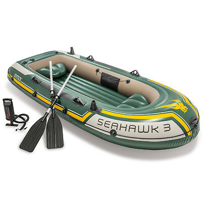 Intex Seahawk 3 Boot Schlauchboot Angelboot Ruderboot Motorboot 68380