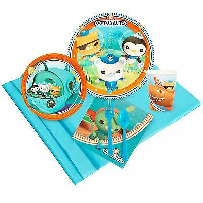 Octonauts - Birthday Party Supply Kit for 8 w/ Table Ware