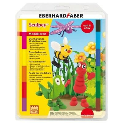 Sculpey Iii Soft Multipack Of 12 Cols - Eberhard Faber Colours Oven Bake Clay