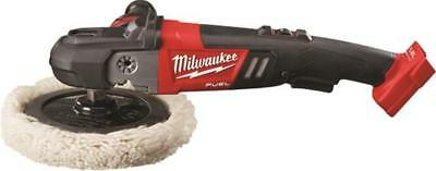 "Milwaukee M18 FUEL™ 7"" Variable Speed Polisher (Bare Tool) 2738-20 w/ Wool Pad"