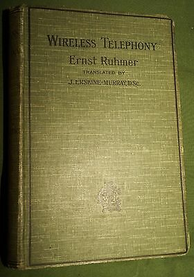 Wireless Telephony Ernst Ruhmer 1908 Photophone! RARE Telephony by light