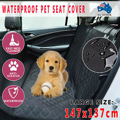 Waterproof Premium Cat Dog Pet Back Car Seat Cover NonSlip Mat Protector