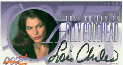 The Women Of James Bond Widevision Autograph A3 Lois Chiles