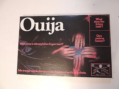 Vintage Ouija Board with Planchette Mystical Oracle Talking Board Black Game