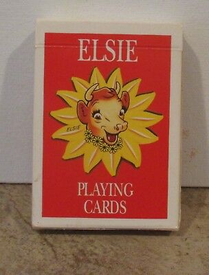 Vintage 1993 BORDEN ELSIE THE COW PLAYING CARDS