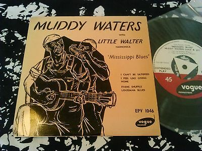 Muddy Waters With Little Walter - Mississippi Blues Ep Mint Unplayed!!! Uk Vogue