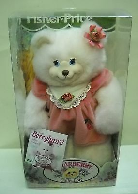 #2041 NRFB Vintage Fisher Price Briarberry Collection BerryLynn Bear