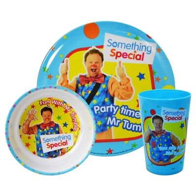 Something Special 3pc Dinner Set - Mr Tumble Dinnerware Mealtime 3piece 6piece