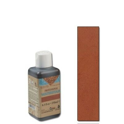 250ml Orange Eco Leather Water Stain - Flo Professional 85 Oz Tandy