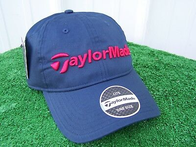 893abacd2d3 TaylorMade Golf Tradition Navy   Red EST. 1979 Lite Golf Hat Cap Adjustable  NEW