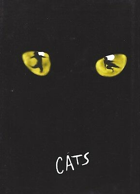 "Andy Karl ""CATS"" Andrew Lloyd Webber / 4th National Tour 1998 Souvenir Program"