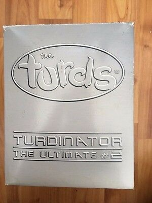 Boxed The Turds Decorative Oranaments Collectors Edition Figurine The Turdinator