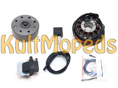 Alternator CONTACTLESS IGNITION CONTACT pas. for NSU Quickly N S 6V 18W 45W