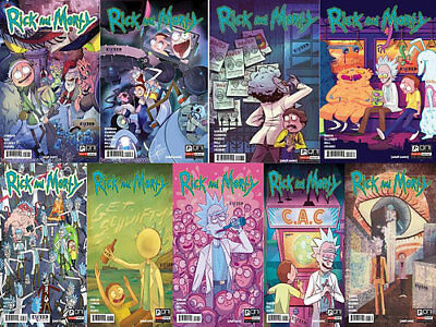 Rick And Morty #8 #9 #10 #11 #12 #13 #14 #15 #16 Exceed Jesse James Exclusive