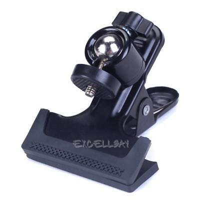 Multi-function Clip Clamp Holder Mount with Standard Ball Head 1/4 Screw E0Xc