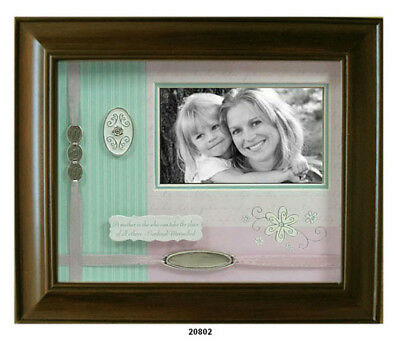 Mom Shadow Box Walnut Wood Picture Frame - Leeber L20802