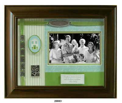 Family Shadow Box Walnut Wood Picture Frame - Leeber L20803