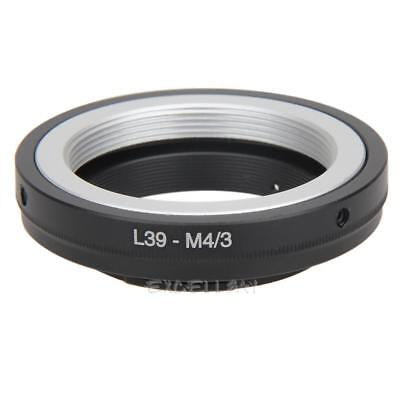 L39 m39 Lens to Micro 4/3 M43 Adapter Ring for Leica to Olympus Mount E0Xc