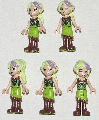Lego Lot of 5 New Female Girl Sira Copperbranch Sky Captain Elves Figures Pieces