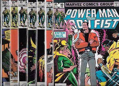 Power Man And Iron Fist Lot Of 6 - #90 #91 #93 #94 #95 #97 (Fn/vf) + Free #89