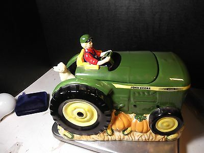 "8"" John Deere Summer's Harvest Gibson Cookie Jar"